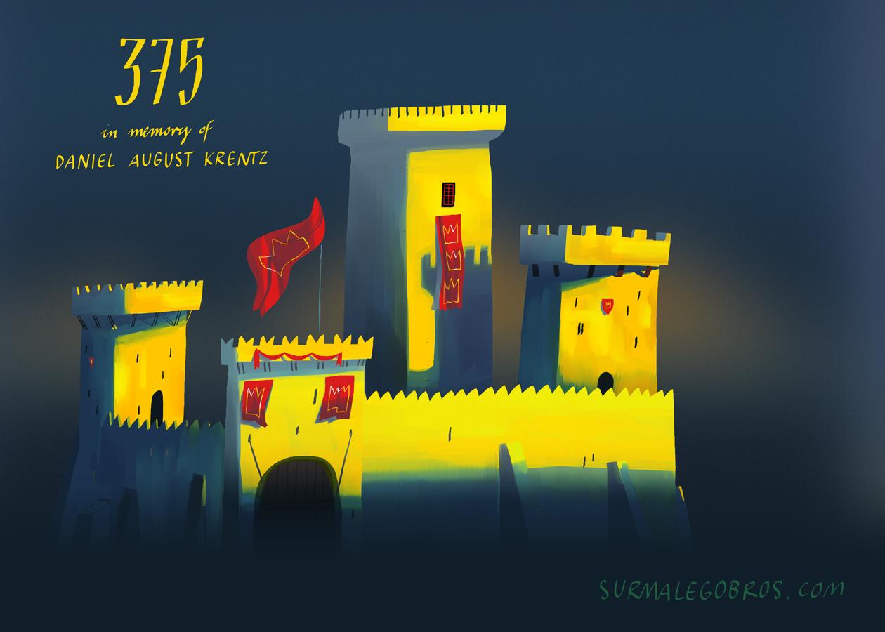 surmalegobros - 375 (yellow castle)